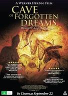 Cave of Forgotten Dreams - Australian Movie Poster (xs thumbnail)