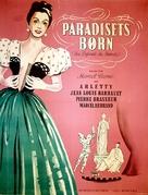Les enfants du paradis - Danish Movie Poster (xs thumbnail)