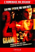 21 Grams - Czech DVD movie cover (xs thumbnail)