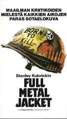 Full Metal Jacket - Finnish VHS cover (xs thumbnail)