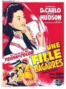 Scarlet Angel - French Movie Poster (xs thumbnail)