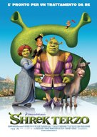 Shrek the Third - Italian poster (xs thumbnail)