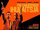 The Hitman's Bodyguard - Estonian Movie Poster (xs thumbnail)