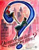 Holiday for Lovers - French Movie Poster (xs thumbnail)
