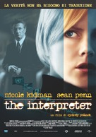 The Interpreter - Italian Movie Poster (xs thumbnail)