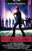Ghetto Blaster - German VHS cover (xs thumbnail)
