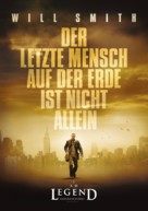 I Am Legend - German Movie Poster (xs thumbnail)