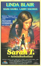 Sarah T. - Portrait of a Teenage Alcoholic - Finnish VHS movie cover (xs thumbnail)