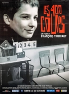 Les quatre cents coups - French Movie Poster (xs thumbnail)