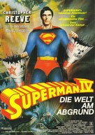 Superman IV: The Quest for Peace - German Movie Poster (xs thumbnail)