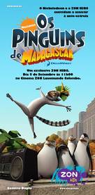 """""""The Penguins of Madagascar"""" - Portuguese Movie Poster (xs thumbnail)"""