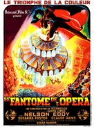 Phantom of the Opera - French Movie Poster (xs thumbnail)