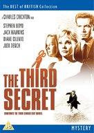 The Third Secret - British DVD cover (xs thumbnail)