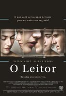 The Reader - Brazilian Movie Poster (xs thumbnail)