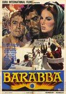 Barabbas - Italian Movie Poster (xs thumbnail)