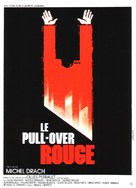 Le pull-over rouge - French Movie Poster (xs thumbnail)