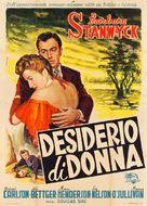 All I Desire - Italian Movie Poster (xs thumbnail)