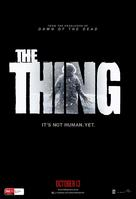 The Thing - Australian Movie Poster (xs thumbnail)