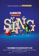 Sing - Dutch Movie Poster (xs thumbnail)
