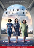 Hidden Figures - German Movie Poster (xs thumbnail)