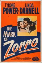 The Mark of Zorro - Movie Poster (xs thumbnail)