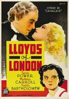 Lloyd's of London - Swedish Movie Poster (xs thumbnail)