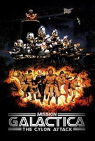 Mission Galactica: The Cylon Attack - DVD cover (xs thumbnail)