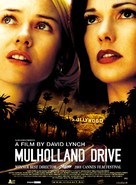 Mulholland Dr. - Belgian Movie Poster (xs thumbnail)