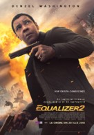 The Equalizer 2 - Romanian Movie Poster (xs thumbnail)