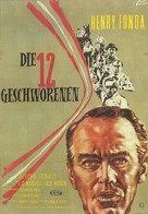 12 Angry Men - German Movie Poster (xs thumbnail)