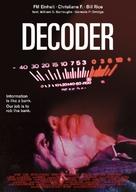Decoder - German Movie Poster (xs thumbnail)