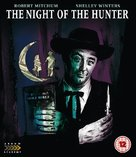 The Night of the Hunter - British Blu-Ray movie cover (xs thumbnail)