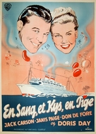Romance on the High Seas - Danish Movie Poster (xs thumbnail)