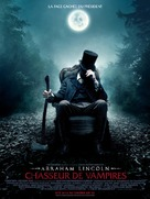 Abraham Lincoln: Vampire Hunter - French Movie Poster (xs thumbnail)