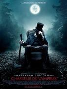 Abraham Lincoln: Vampire Hunter - French Movie Poster (xs thumbnail)