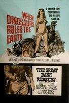 When Dinosaurs Ruled the Earth - British Combo poster (xs thumbnail)