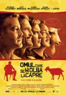 The Men Who Stare at Goats - Romanian Movie Poster (xs thumbnail)