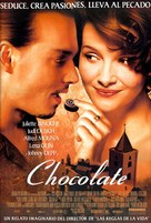 Chocolat - Mexican Movie Poster (xs thumbnail)