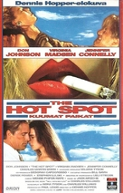 The Hot Spot - Finnish VHS movie cover (xs thumbnail)