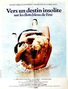 Travolti da un insolito destino nell'azzurro mare d'agosto - French Movie Poster (xs thumbnail)