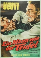 A Lawless Street - German Movie Poster (xs thumbnail)