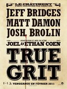 True Grit - French Movie Poster (xs thumbnail)