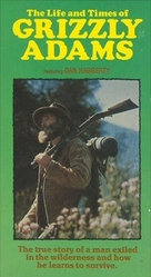 The Life and Times of Grizzly Adams - VHS cover (xs thumbnail)
