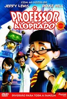 The Nutty Professor 2: Facing the Fear - Brazilian Movie Cover (xs thumbnail)