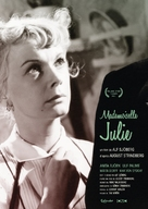 Fröken Julie - French Movie Poster (xs thumbnail)