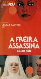 Suor Omicidi - Brazilian VHS movie cover (xs thumbnail)