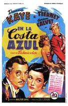 On the Riviera - Spanish Movie Poster (xs thumbnail)