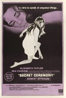 Secret Ceremony - Australian Movie Poster (xs thumbnail)