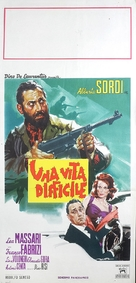 Una vita difficile - Italian Movie Poster (xs thumbnail)