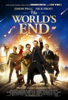 The World's End - British Movie Poster (xs thumbnail)
